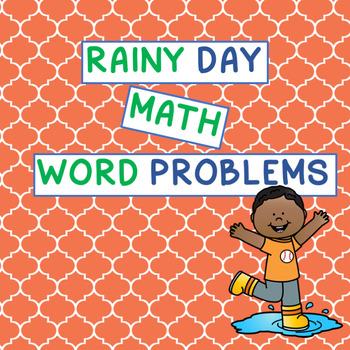 Rainy Day Math Word Problems
