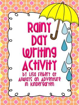 Rainy Day writing activity