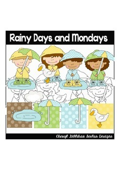 Rainy Days and Mondays Clipart Collection