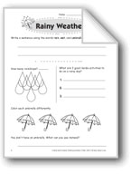Rainy Weather (Thinking Skills)