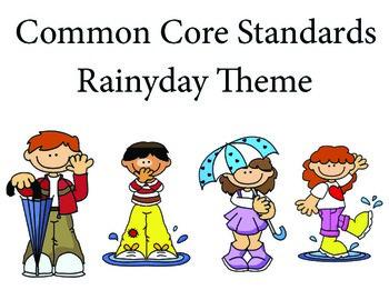 Rainyday 3rd grade English Common core standards posters