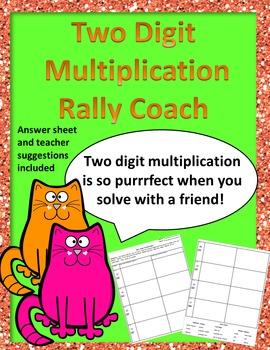 Rally Coach 2 Digit Multiplication