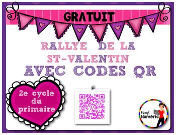 FRENCH - Rallye St-Valentin codes QR- IPAD