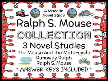 Ralph S. Mouse Collection (Beverly Cleary) All 3 Novel Stu