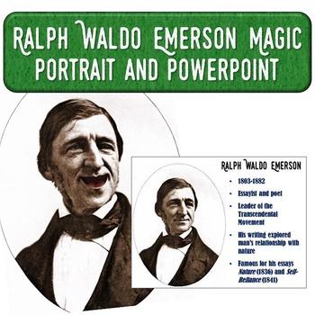 Ralph Waldo Emerson Magic Portrait Video & PowerPoint for