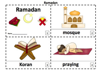 Ramadan 2 Emergent Reader Booklets