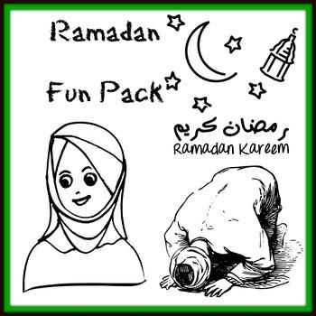 Ramadan Activities, Vocabulary Printables and Fun Workshee