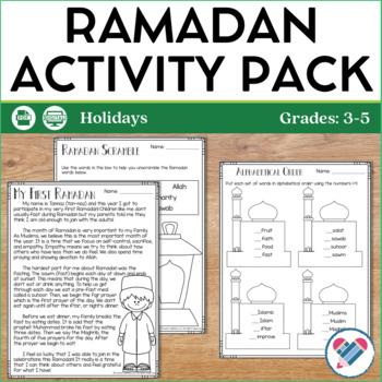 Ramadan Reading and Writing Activities