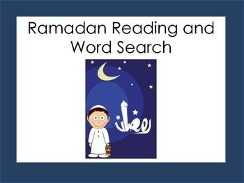 Ramadan: Word Search and Reading