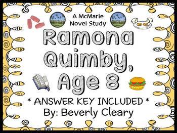 Ramona Quimby, Age 8 (Beverly Cleary) Novel Study / Readin