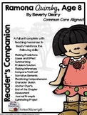 Ramona Quimby, Age 8: Reader's Companion
