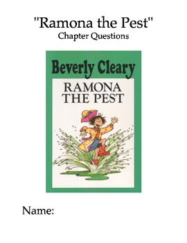 """Ramona the Pest"" Chapter and Comprehension Questions"