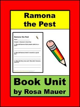 Ramona the Pest Reading Comprehension