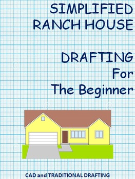 Beginner Ranch House Drafting and Coordinate Drawing