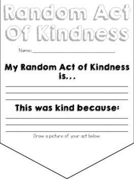 Random Act of Kindness Banner