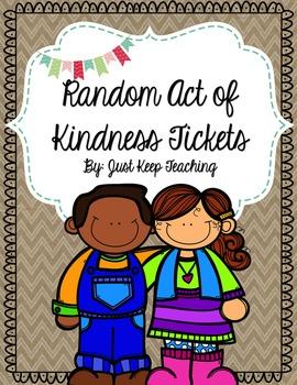 Random Act of Kindness Tickets