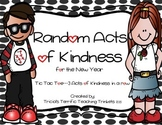 Random Acts of Kindness Tic Tac Toe