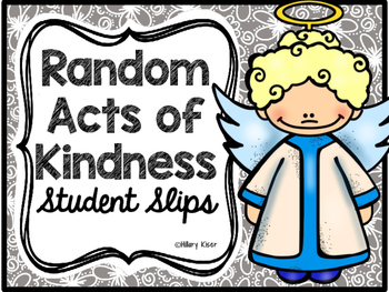Random Acts of Kindness Tickets
