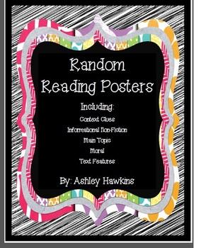 Random Reading Posters