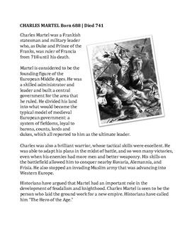 Rank the Frank: Charles Martel / Pepin / Charlemagne