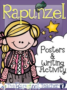 Rapunzel Posters (11 Total) & Writing Activity {Fairy Tales}