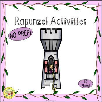 Rapunzel Fairy Tales Worksheets Activities Games Printable