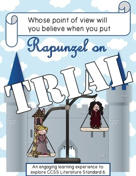 Rapunzel on Trial: Fairytales on Trial Fractured Fairytale