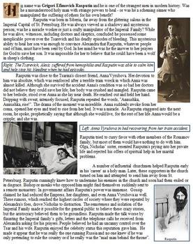 Rasputin Biography and Source Analysis