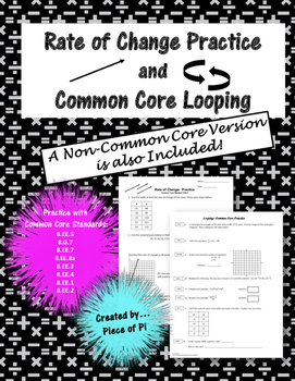 Rate of Change Spiraling Practice