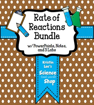 Rate of Reactions Pack