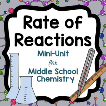 Rate of Reactions Mini-Unit