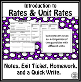 Rates Lesson