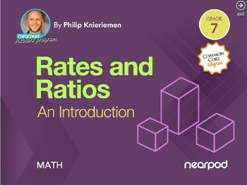 Rates and Ratios: An introduction