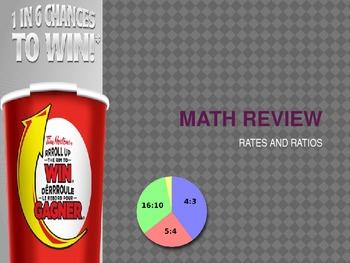 Rates and Ratios- Intermediate math