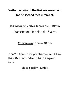 Ratio, Proportion, Indirect Measurement, and Scale Drawing