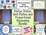 Ratio, Rate, Unit Rate, and Proportional Reasoning Bundle