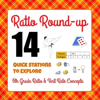 Ratio Round-up - 6th Grade Ratio and Unit Rate Concepts -