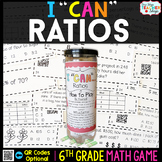 6th Grade Ratios and Unit Rate Game - 6th Grade Math Game
