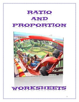 Ratio and Proportion Worksheets - September 2015 (US Version)