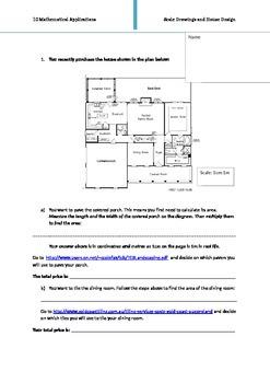 Ratio/Scale/Measurement Worksheet