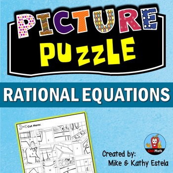 Rational Equations Picture Puzzle