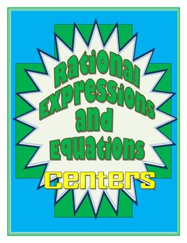 Rational Expressions and Equations Centers