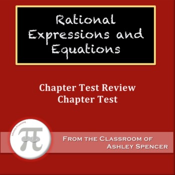 Rational Expressions and Equations Test