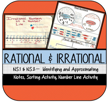 Rational & Irrational Numbers: Sorting & Approximating on