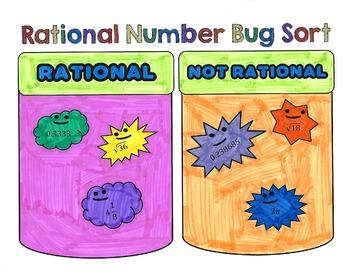 Rational Number Bug Sort