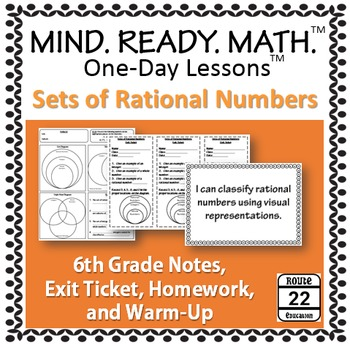 Rational Numbers (One-Day Lesson)