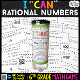 6th Grade Rational Numbers Game - 6th Grade Math Game