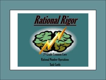 Rational Rigor Task Cards