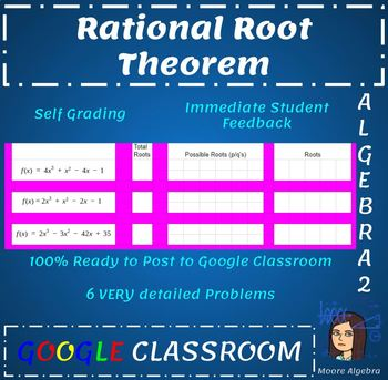 Rational Root Theorem - Google Classroom