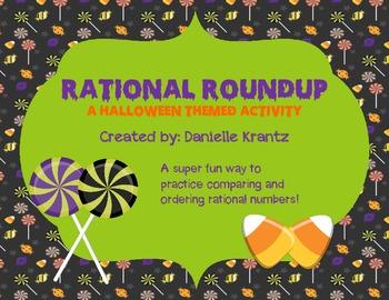Rational Roundup - Halloween Activity